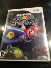 SUPER MARIO GALAXY Sealed NEW Nintendo Wii Platformer Original White Label New