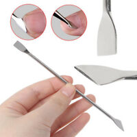 Dual-ended UV Gel Cuticle Nail Remover Anti-slip Manicure Tools Stainless Steel
