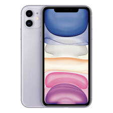 Apple iPhone 11 - 64GB - Purple (Unlocked) A2111 (CDMA GSM) - Excellent