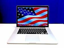 Apple MacBook Pro 15 inch RETINA OSX-2015 / 512GB SSD / Core i7 2.4Ghz / 8GB!