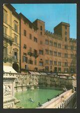 AD7273 Siena - Città - Fonte Gaia e Palazzo Sansedoni