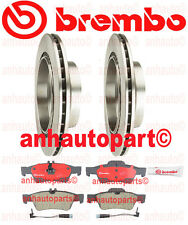 Mercedes Brembo Rear Rotors  & Pads Brake KIT Model's With Rear Vented Discs
