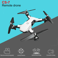RC Drone with Wifi FPV Camera 2.4G 6-Axis Foldable Quadcopter Wide-angle White