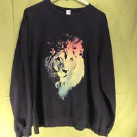 Vintage Lion Sweatshirt Independent Trading Company Men's Size Large