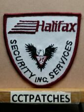 HALIFAX SECURITY INC SERVICES, CANADA (POLICE) SHOULDER PATCH