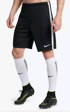 NWT MEN'S NIKE DRI FIT BLACK WHITE SOCCER/FOOTBALL SHORTS SIZE XXL 917823-010