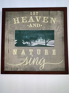 Let Heaven And Nature Sing Enhanced Art Lightup Christmas Decoration By Hallmark