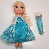 Disney Frozen Singing Elsa Doll With Microphone (Sing Along Elsa)