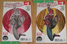 Amazing Spider-Man #1 2014 Limited Edition Comix Granov Color Sketch Variant NM