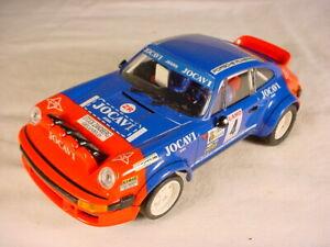 Ninco Porsche 911 SC #4 JOCAVI WRC VG #50371 slot car.
