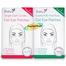 Pretty Gel Eye Mask Pad Patches Soothe Puffy Tired & Dark Eyes With Collagen