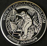 2007 FLORIDA GEOCACHING GEOCOIN - N - U/T - NEW - HTF