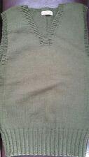 Vintage WWII American Red Cross Sweater Vest 1940s Navarro CC Corsicana Texas