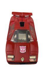 Vintage 1980 - 1982 Transformers G1 SIDESWIPE LAMBORGHINI Autobot Hasbro Takara