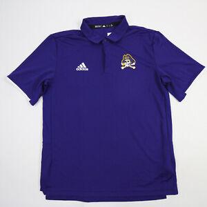 East Carolina Pirates adidas Polo Men's Purple Used