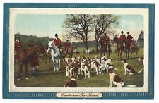 HUNTING Cumberland Fox Hounds, Old Postcard Unused