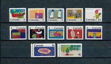 Canada  519-30 MNH, Christmas, 1970