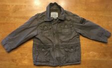 The Children's Place Boy's Brown Full Zip Coat Size: 24 Months
