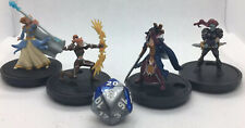 Lot Of 4 WOW PREPAINTED MINIATURES Set F Female Adventurers For RPG Tabletop DND