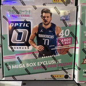 DONRUSS OPTIC 2020-21 NBA BASKETBALL MEGA BOX SEALED IN HAND READY TO SHIP