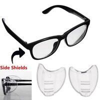 2pcs NEW Universal Flexible Side Shields Safety Glasses Goggles Eye Protection