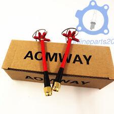Aomway 5.8Ghz Clover leaf FPV RHCP Antenna RP-SMA for TX RX(4-Leaf 1 Pair)