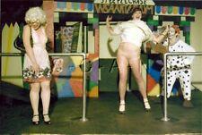 Org Amateur Semi Nude Large (10.25 x 7) Photo- Clown- Funhouse- Panties- Skirt 4