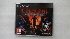 Resident Evil Operation Raccoon City PS3 PROMO Game PlayStation 3 Promotional