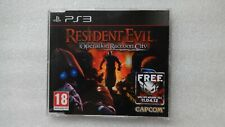 Resident Evil Operation Raccoon City PS3 Promo Juego PlayStation 3 Promocional