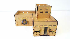 Infinity the game 28mm L Shaped Building Terrain Industrail Park