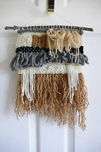 Hand Woven Wall Hanging, Home Nursery Decor, Wall Art