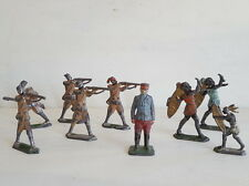 LOT ANCIEN JOUETS PETITS SOLDATS FIGURINES ANTIQUE FRENCH TOY