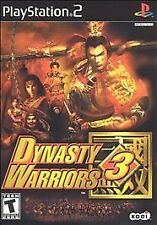 Dynasty Warriors 3 (Sony PlayStation 2, 2001) White Label Disc Only *Tested*
