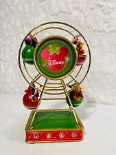 Disney Christmas Decorative Metal Ferris Wheel Mickey Pooh Musical Animated