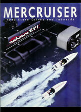 Rare Vintage 1993 Mercury Mercruiser Stern Drive & Inboards Catalog Brochure