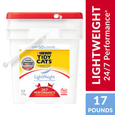 New listing Purina Tidy Cats Light Weight Low Dust Clumping Cat Litter 24/7 Performance 17lb