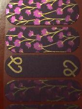 Jamberry Wrap Half Sheet - FADV Grow Girl Barcode - Charity Domestic Violence