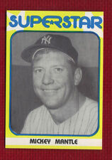 MICKEY MANTLE 1982 SUPERSTAR 1st Series #30 New York Yankees Only One on eBay