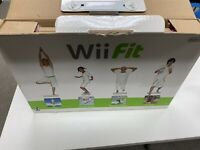 Nintendo Wii Fit Balance Board With Wii Fit And Wii Fit Bundle