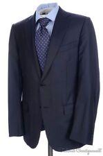 ERMENEGILDO ZEGNA Current Blue Striped Trofeo Wool Jacket Pants SUIT Mens - 40 R