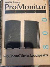 """New listing Definitive Technology ProMonitor 800 4-1/2"""" Bookshelf Speaker Black"""