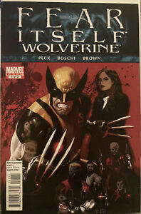 Lot Of 3 Fear Itself: Wolverine 1 2 3 Complete Series # 1-3 See Pics