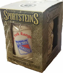 Sportsteins Collectibles NHL New York Rangers Hoffbraus Ceramic Beer Mug Stein