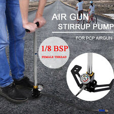 3 Stage PCP Air Gun Rifle Filling Stirrup Pump Hand Pump 4500PSI Gas Filter hot