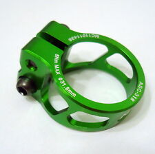 gobike88 MOWA Alloy Seatpost Clamp, 31.8mm, Green, 26g, A03