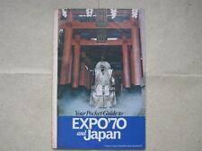 JAPAN 1970 EXPO Souvenir Guide Booklet insert from READER'S DIGEST magazine