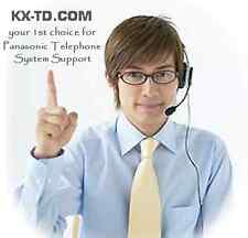 PANASONIC PHONE SYSTEM TECH SUPPORT