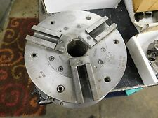 "Autoblok 220 HB 3-Jaw CNC Power Lathe Chuck 8.5"" OD Plain Back"