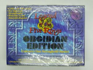 Legend of the Five Rings Obsidian Edition UNICORN CLAN Stronghold Starter L5R