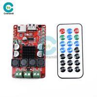 TPA3116 2x50W Bluetooth Receiver Amplifier TF Card Decoder Remote Control Player